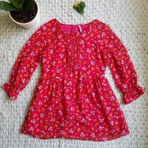 Free People Court Me with Flowers Floral Tunic